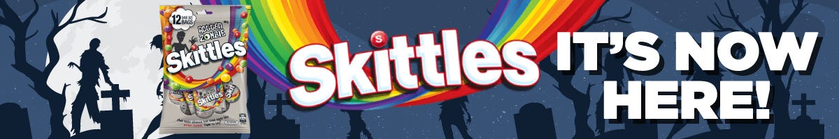 Click to Shop Skittles Zombie