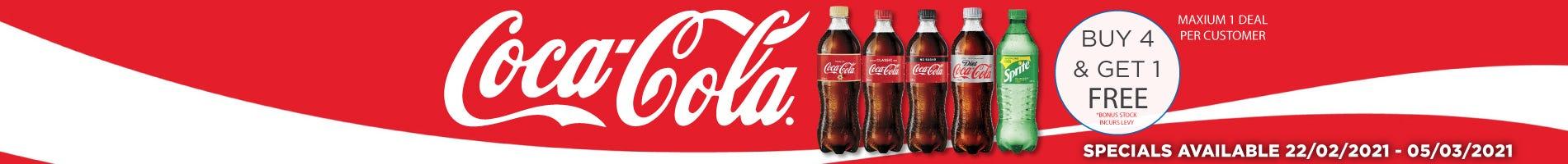 Click to Shop Coca Cola