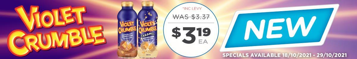 Click to Shop Violet Crumble