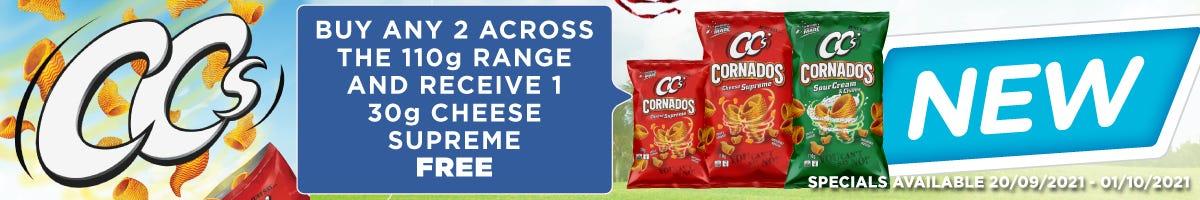Click to Shop CC's Cornados