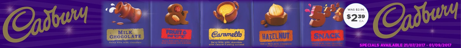 Click to Shop Medium Cadbury