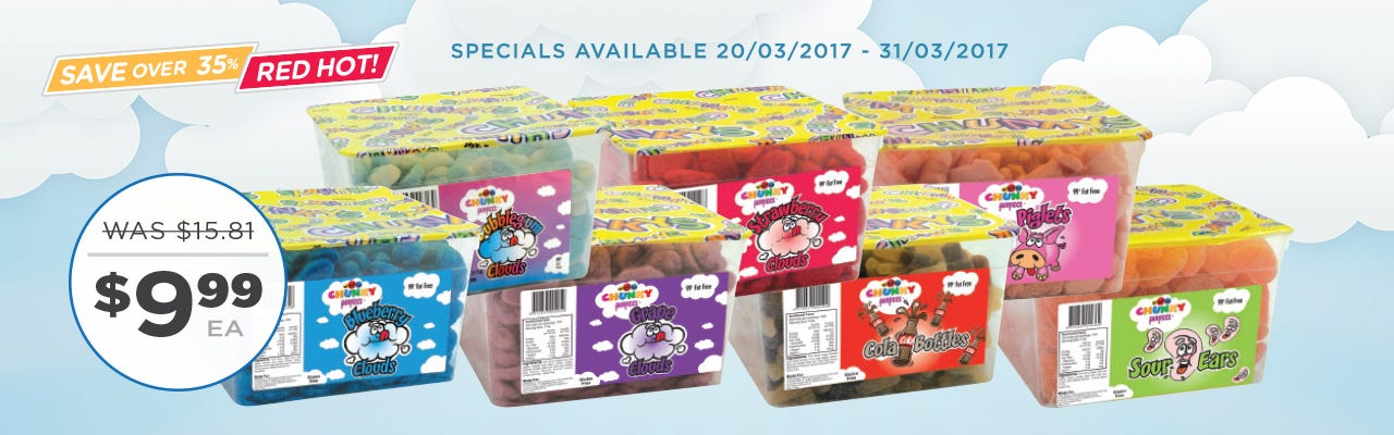 Click to Shop Chunky Candy Brokers