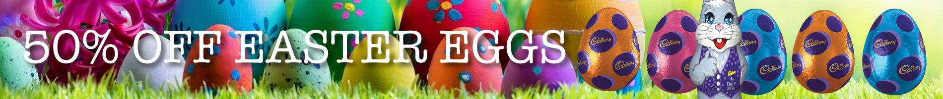 Click to Shop Easter Eggs
