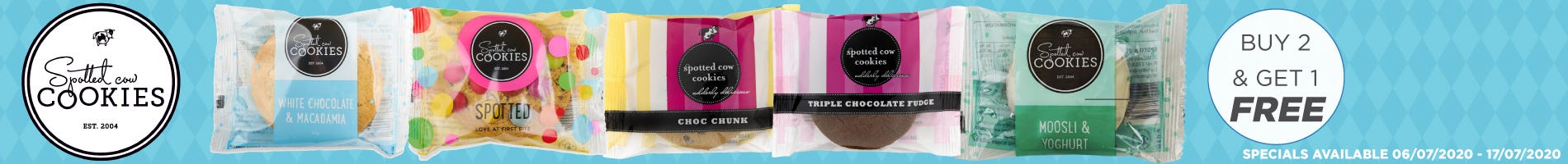 Click to Shop Spotted Cow Cookies