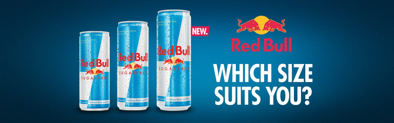 Click to Shop Sugar Free Red Bull