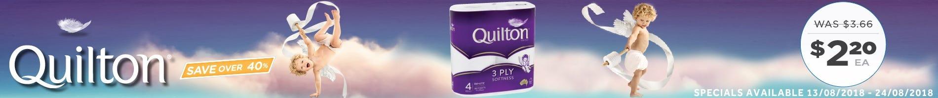 Click to Shop Quilton