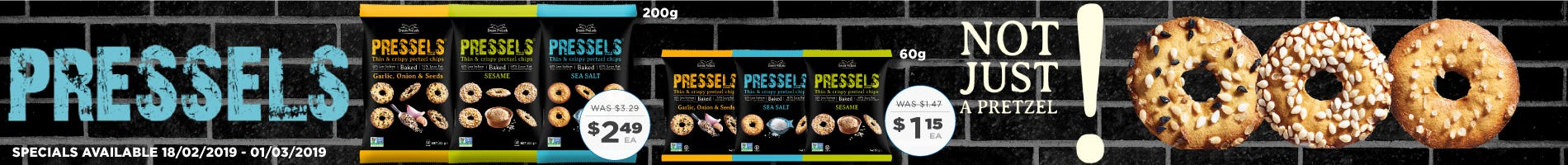 Click to Shop Pressels