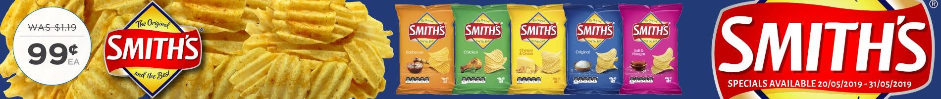 Click to Shop Smiths 45g