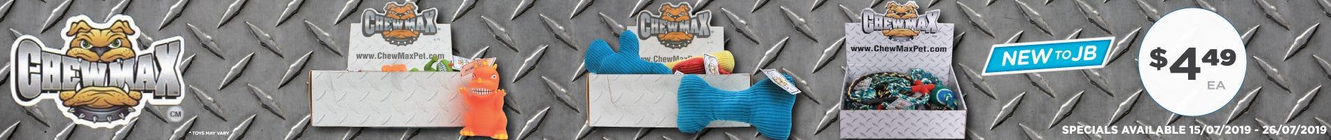 Click to Shop Chew Max