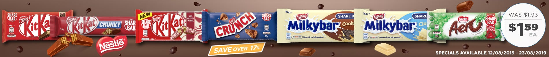 Click to Shop Nestle King Size