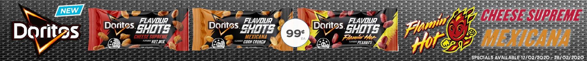 Click to Shop Doritos Shots