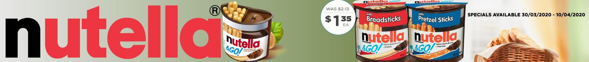 Click to Shop Nutella & Go