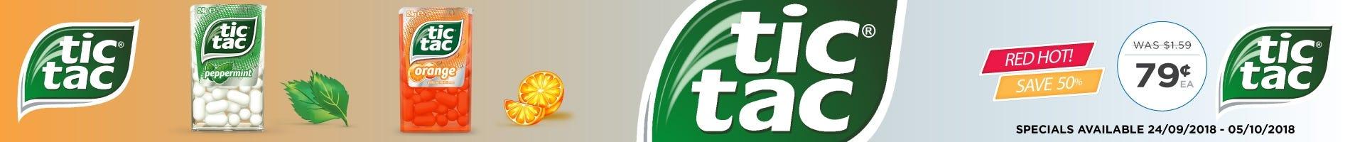 Click to Shop Tic Tac